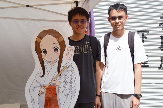 台湾の陳冠宇さんと冠延さん兄弟