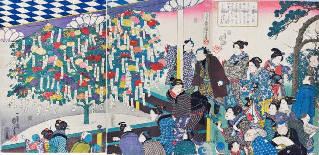江戸の園芸熱 ー浮世絵に見る庶民の草花愛ー