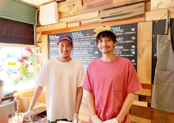 添田亮さんと拓さん