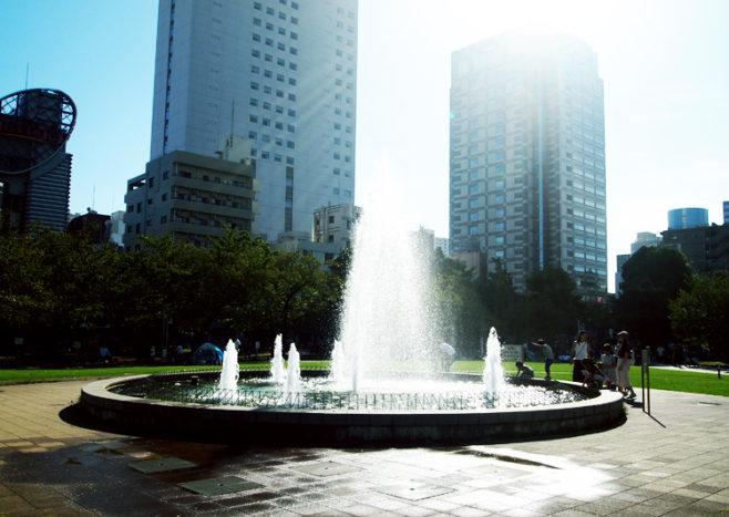 錦糸公園 噴水